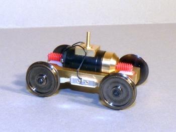 Z Antrieb Spur Null Drehgestell mit Antrieb