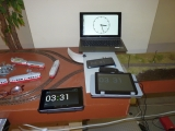 MRclock als Uhr bei Treffen / MRclock as Clock System for FREM0Meetings
