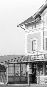 Bahnhof Bierbaum Farbe desEG
