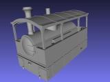 Wiener Dampftramway 3achsige Lokomotive Nr. 6 bis11